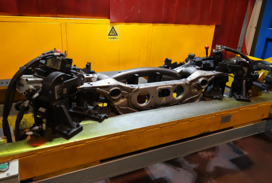 Rear subframe welding production line - Auto Frame - Chengdu