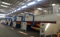 Torsion beam welding production line